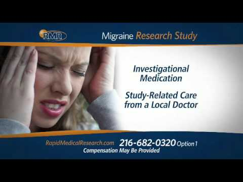 Migraine Clinical Research Study - Cleveland, OH