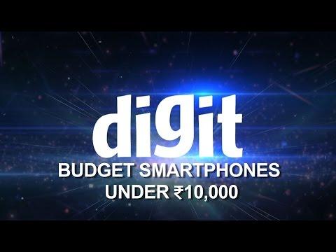 Top 10 Smartphones under ₹10,000 in 55 seconds (As of November 2015)