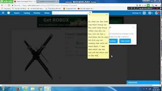 cách hack robux trong roblox