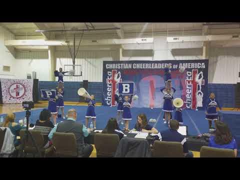 Peniel Baptist Academy Cheerleading Competition