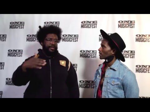 Questlove tells Roman GianArthur what it takes to be a