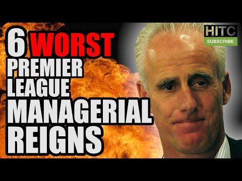6 Worst Premier League Managerial Reigns