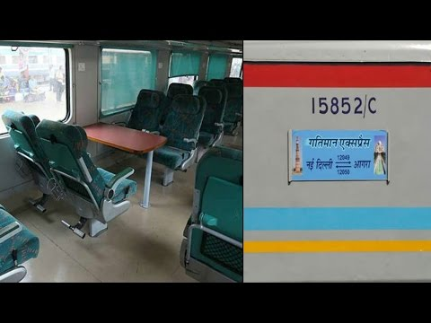 India's first Semi Bullet train 'Gatiman Express' launched