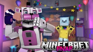 Funtime Freddy Meets Robot Gaming (Minecraft FNAF Roleplay)