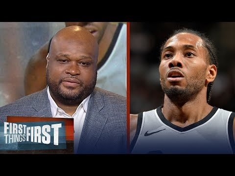 Antoine Walker on reports Spurs asking Lakers for massive trade for Kawhi | NBA | FIRST THINGS FIRST