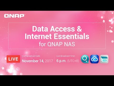 Data Access & Internet Essentials for QNAP NAS