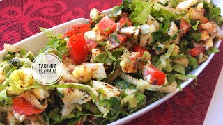 Kahvaltıya Özel Nefis Yumurta Salatası Tarifi | tadimiztuzumuz