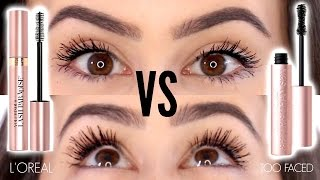 Too Faced Better Than Mascara Dupes || L