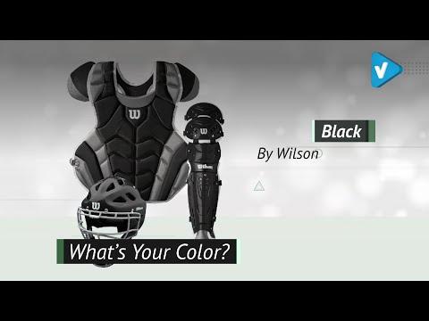 Wilson C1K Catcher's Gear Kit, 2019 Baseball & Softball Collection
