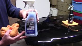 Sonax Brilliant Shine Detailer - What You Need To Know!