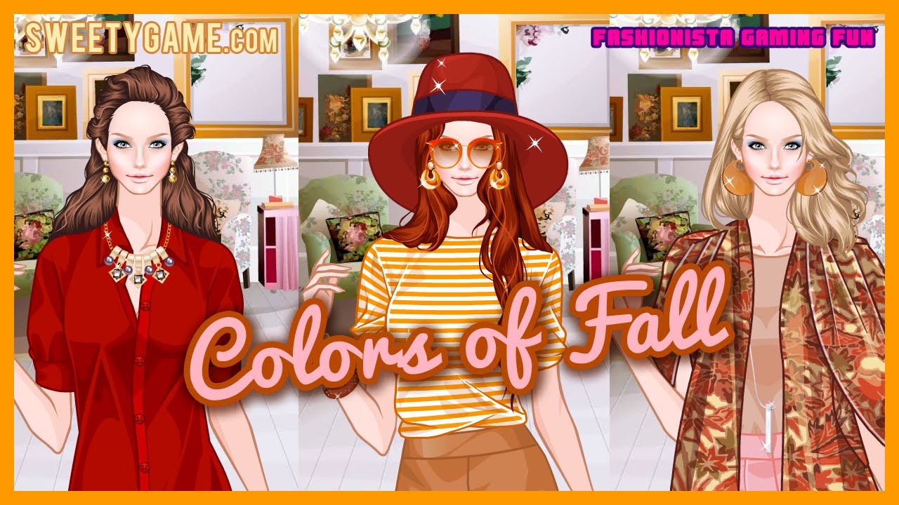 Colors Of Fall Fun Online Fashion Dress Up Games For