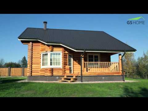 Теплые деревянные дома из бревна