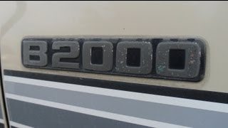 Amazing 1 Owner!  - 1986 Mazda B2000 (HD)