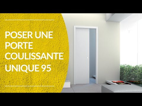 Porte coulissante galandage l 39 invisible by portarredo for Poser une porte coulissante a galandage