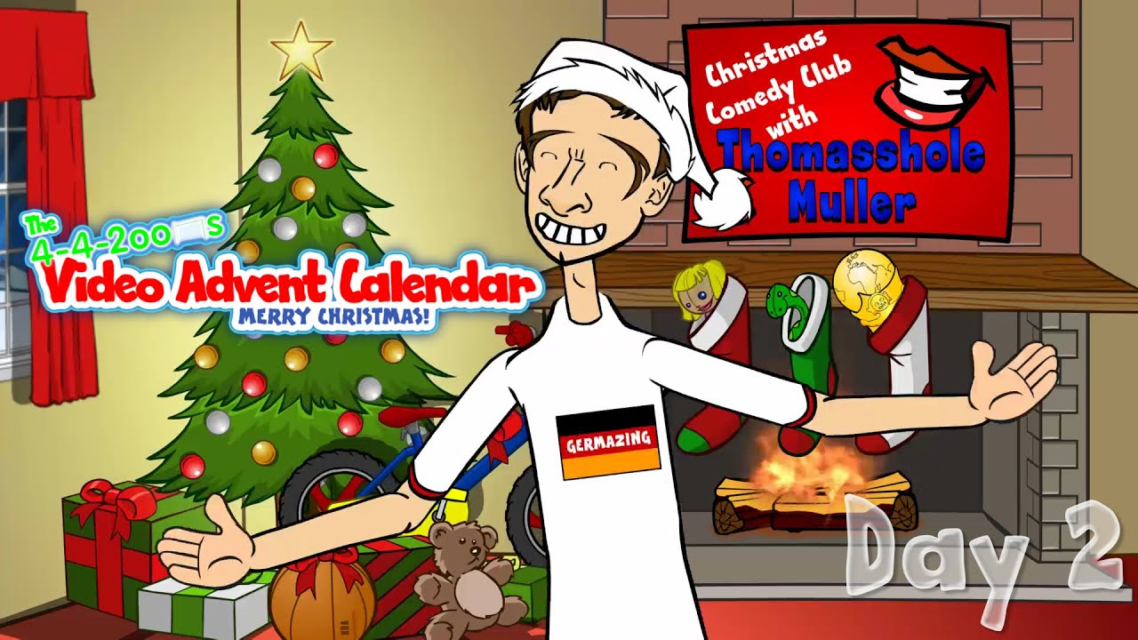 thomas muller comedy club day 2 442oons advent. Black Bedroom Furniture Sets. Home Design Ideas