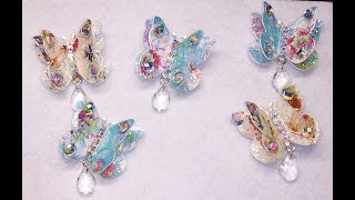 DIY~Beautiful & Sturdy Scrappy Butterfly Embellishments~So Simple!