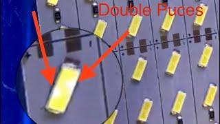 Vidéo: Barre led 7030 double chips blanc neige haute luminosité