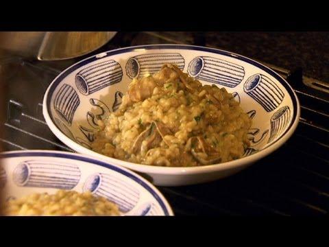 Wild Mushroom Rissotto by Giorgio Locatelli - Ainsley's Gourmet Express - BBC Food