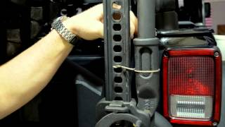 How To Install The Ace Jk Hi-lift Jack Tire Carrier Mount