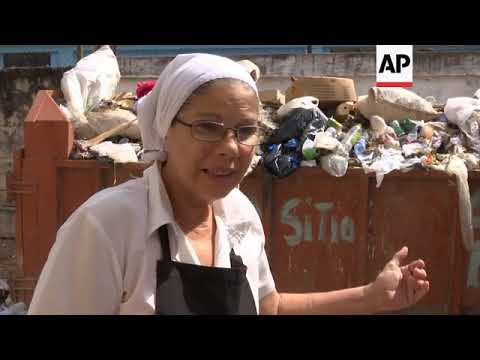 Havana fights trash problem ahead of 500th anniversary