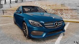 Mercedes C-class W205 обзор от Чайника