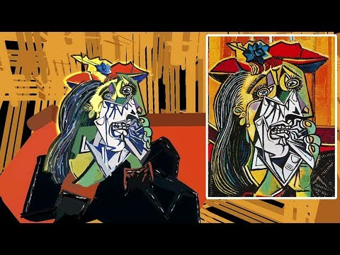 "Explore Picasso's ""Weeping Woman"" in Virtual Reality 