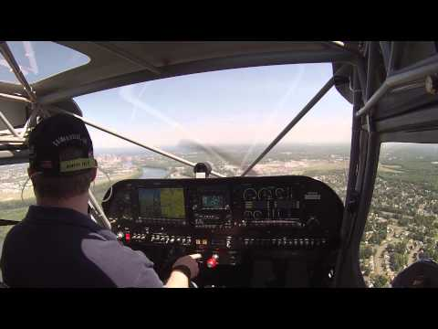 Flight #31 - Short Approach to land at Hartford Brainard Airport