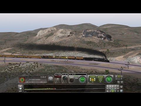 Train Simulator 2020 Union Pacific Big Boy #4014 Climbing Up Cajon Pass w/ RailGiants Excursion  