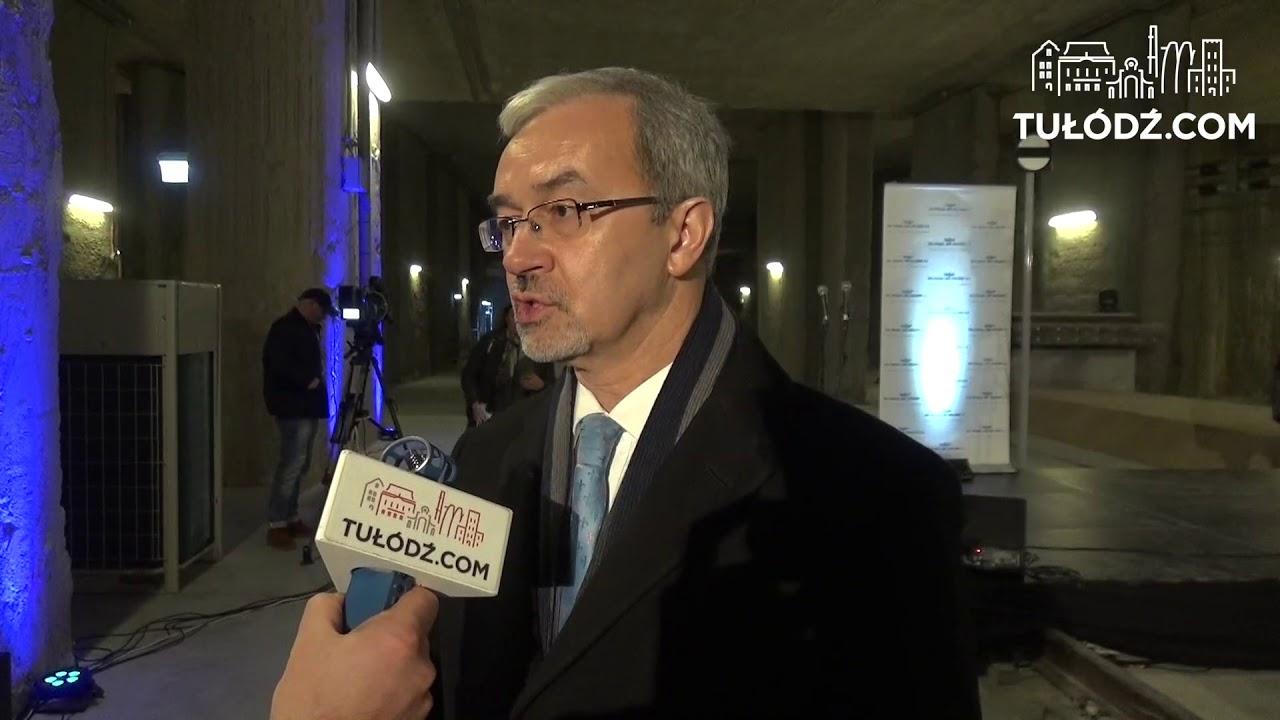 Jerzy Kwieciński o budowie tunelu pod Łodzią