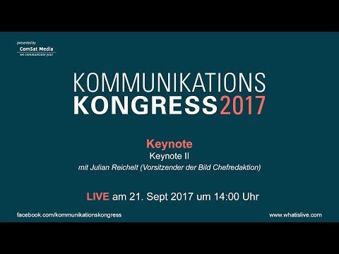 Keynote: Keynote II mit Julian Reichelt von der Bild