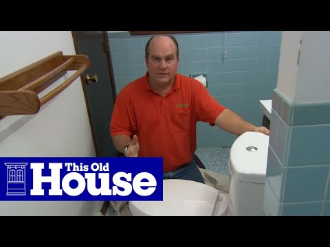 How to Install a Dual-Flush Toilet - This Old House