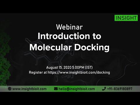 Webinar - Introduction to Molecular Docking