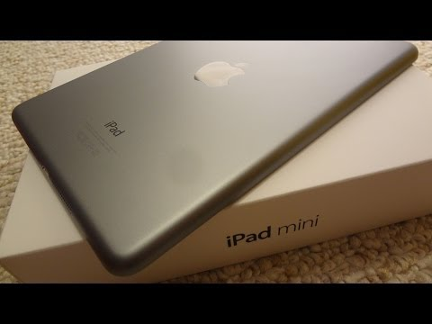 iPad Mini 2 with Retina Display Unboxing & First-Boot Impressions (Space Gray, 16GB Wi-Fi)