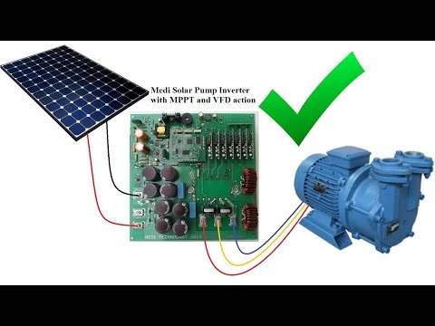3 phase Solar Pump Inverter with MPPT and VFD 2