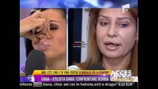 Oana Zăvoranu îsi parodiază vecina (Acces Direct- Antena 1) HD