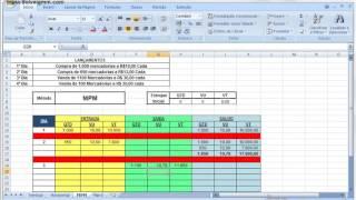 Controle de estoque Metodo MPM