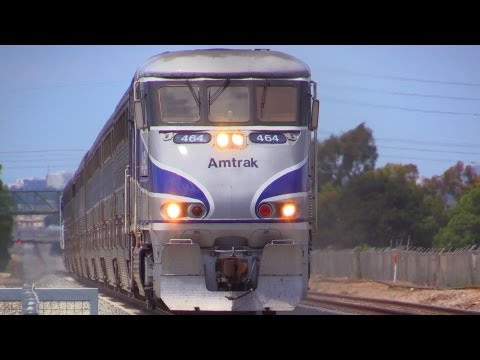 Thumbnail: Amtrak Trains - 9 to 10 CAR LONG SURFLINERS
