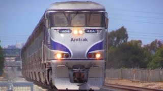 Amtrak Trains - 9 to 10 CAR LONG SURFLINERS