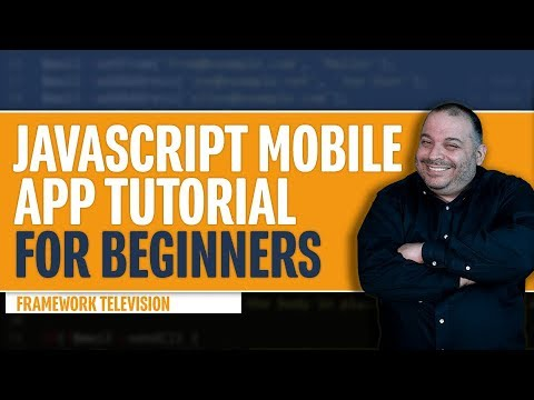 Javascript Mobile App Tutorial for Beginners | Step-by-Step, Download All  Code