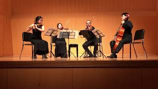 W. A. Mozart – Flötenquartett D-Dur K. 285 (1777)