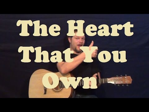 The Heart That You Own Dwight Yoakam Easy Strum Guitar Lesson
