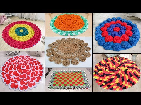 10 Creative Doormat Ideas !!! DIY Handmade Things || Best Out of Waste