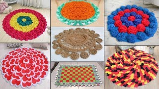 10 Creative Doormat Ideas !!! DIY Handmade Things || Best Out of Waste