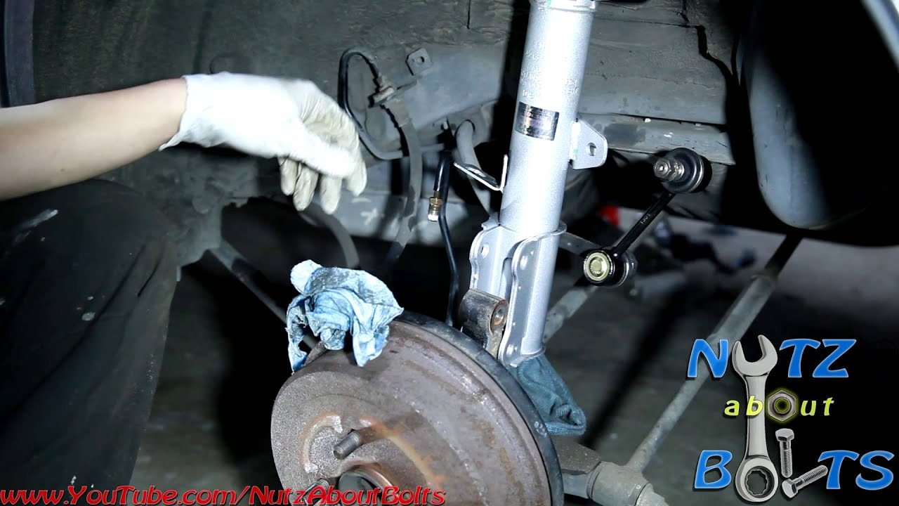 19932002 Toyota Corolla rear shock assembly remove and