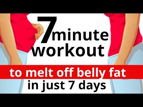 7 MINUTE HOME EXERCISE TO LOSE BELLY FAT |7 DAY CHALLENGE GET RID OF BELLY FAT| LUCY WYNDHAM-READ