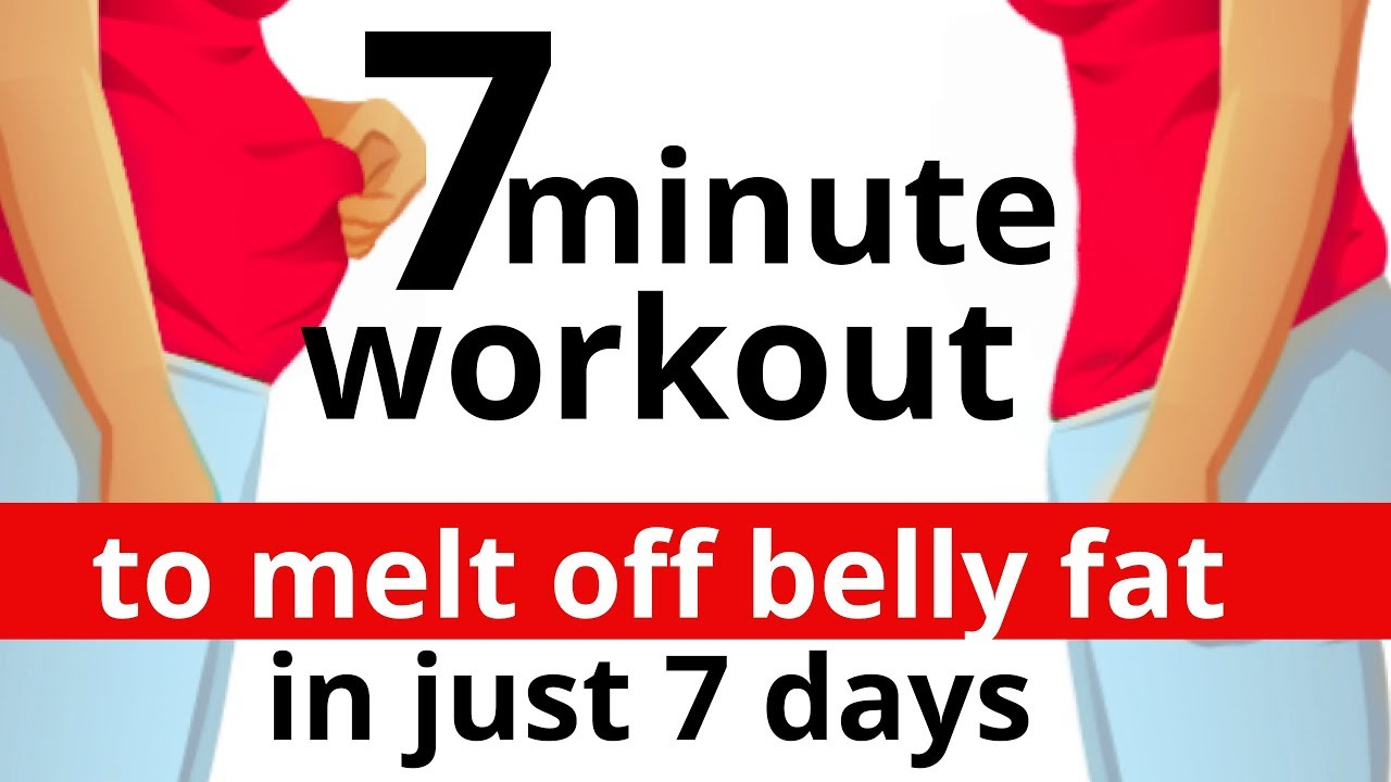 Fast And Easy Body Shaping 7 Minute Home Exercise To Lose Belly Fat