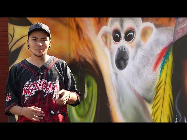 #DestacadoUT | Jhonny Ortíz - Beneficiario de monitorías de murales