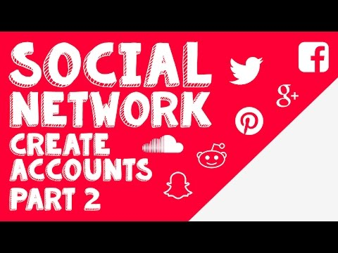 New Social Network - Part 2 - Creating Accounts