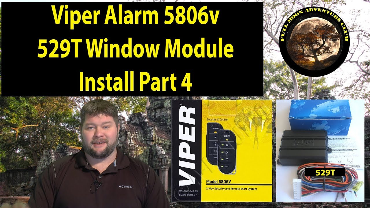 Viper 5704 Module For Window How To Install A Alarm Remote Start Roll Up Part Youtube 1280x720