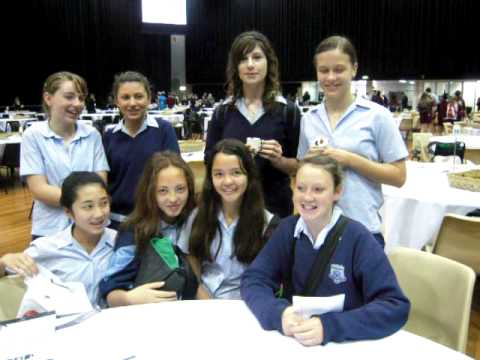 Event Company - Sydney Schoolgirls thank European Catering